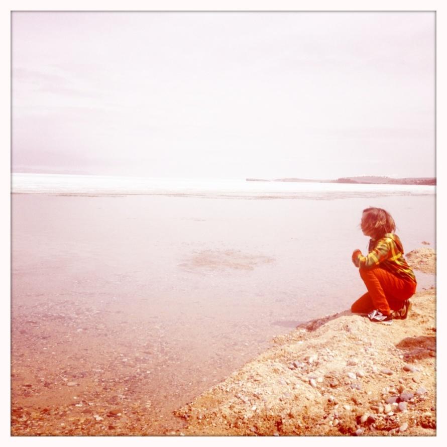 Moi, le lac Baikal et les ricochets