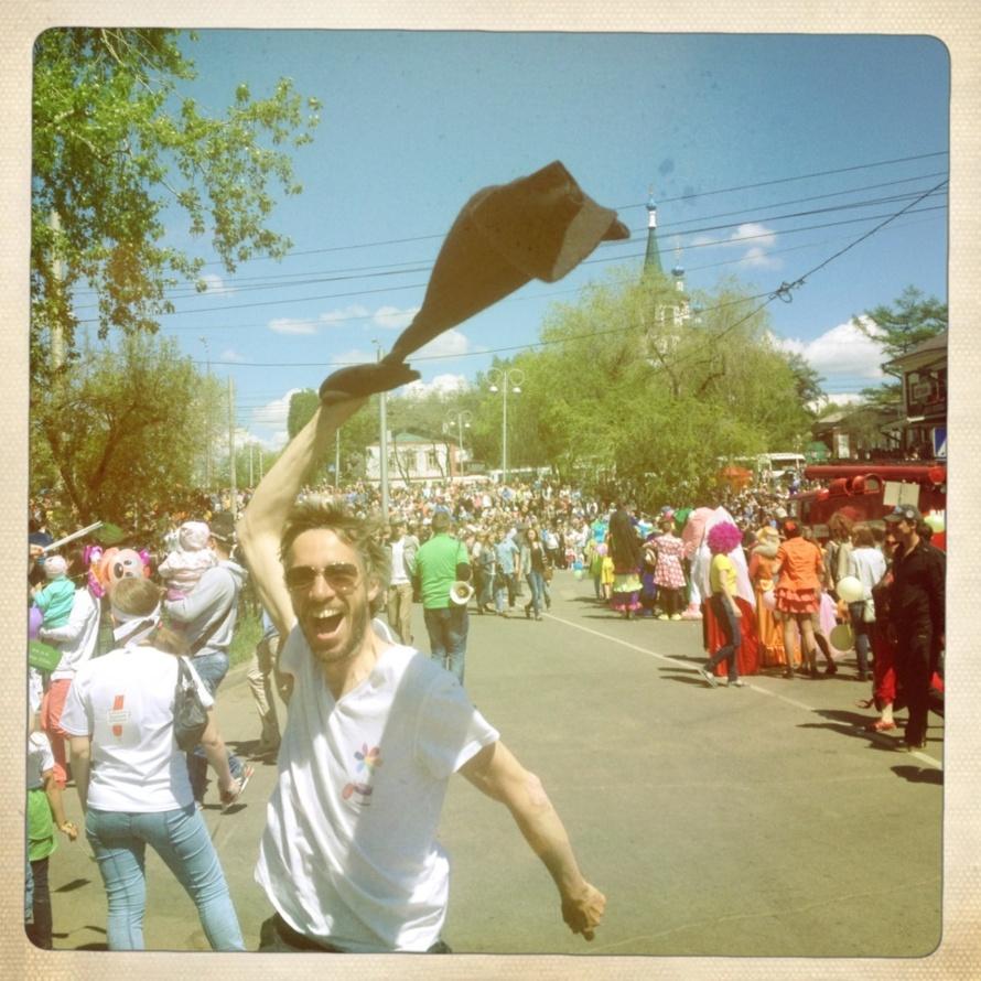 carnaval a Irkoutsk