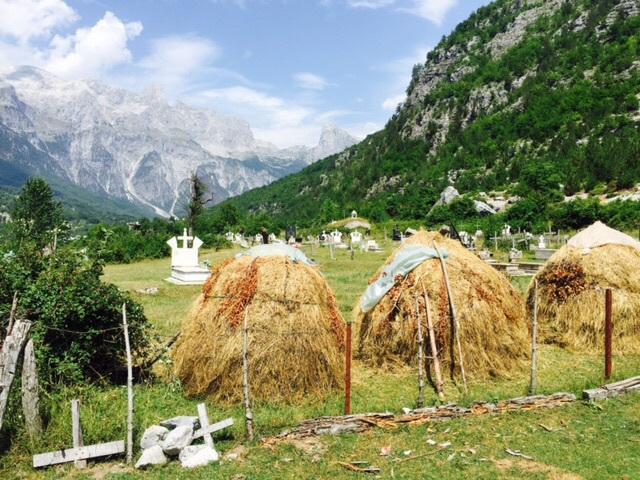 Les enfants des alpes Albanaises