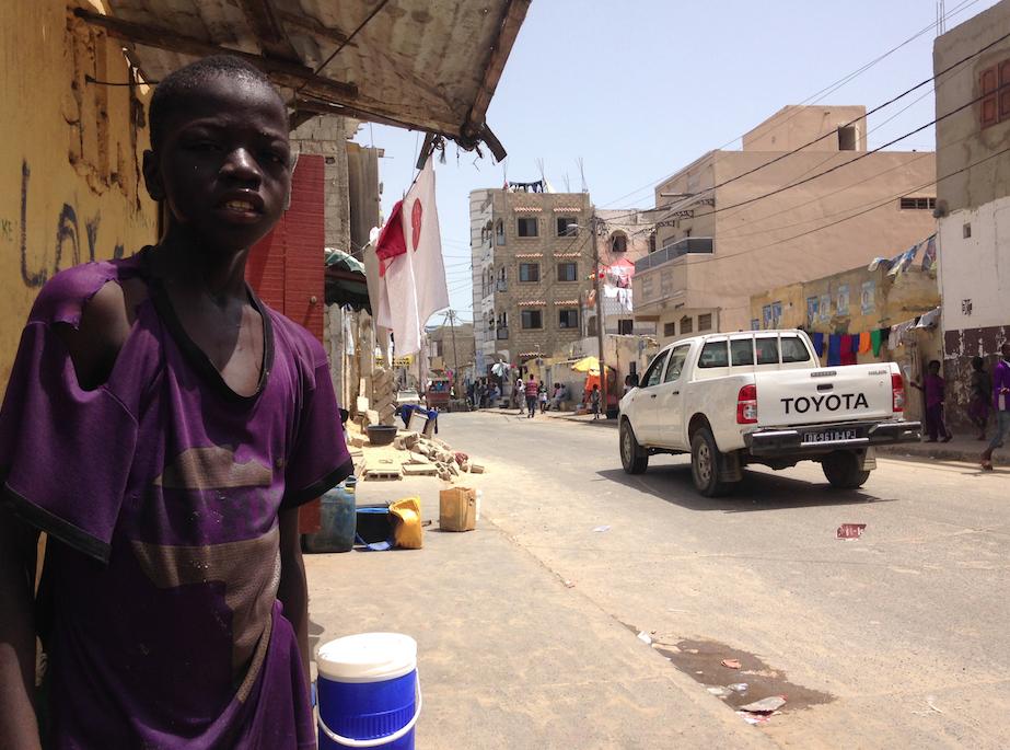 Les talibés du Sénégal