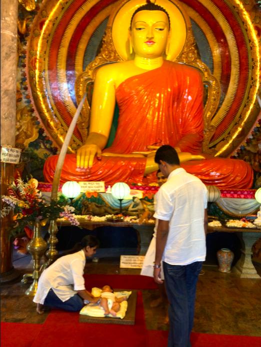 """baptême"" bouddhiste"