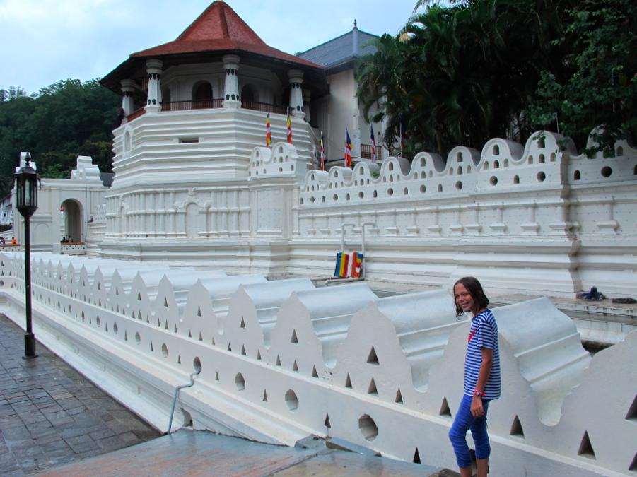 Bouddha en pièces détachées.